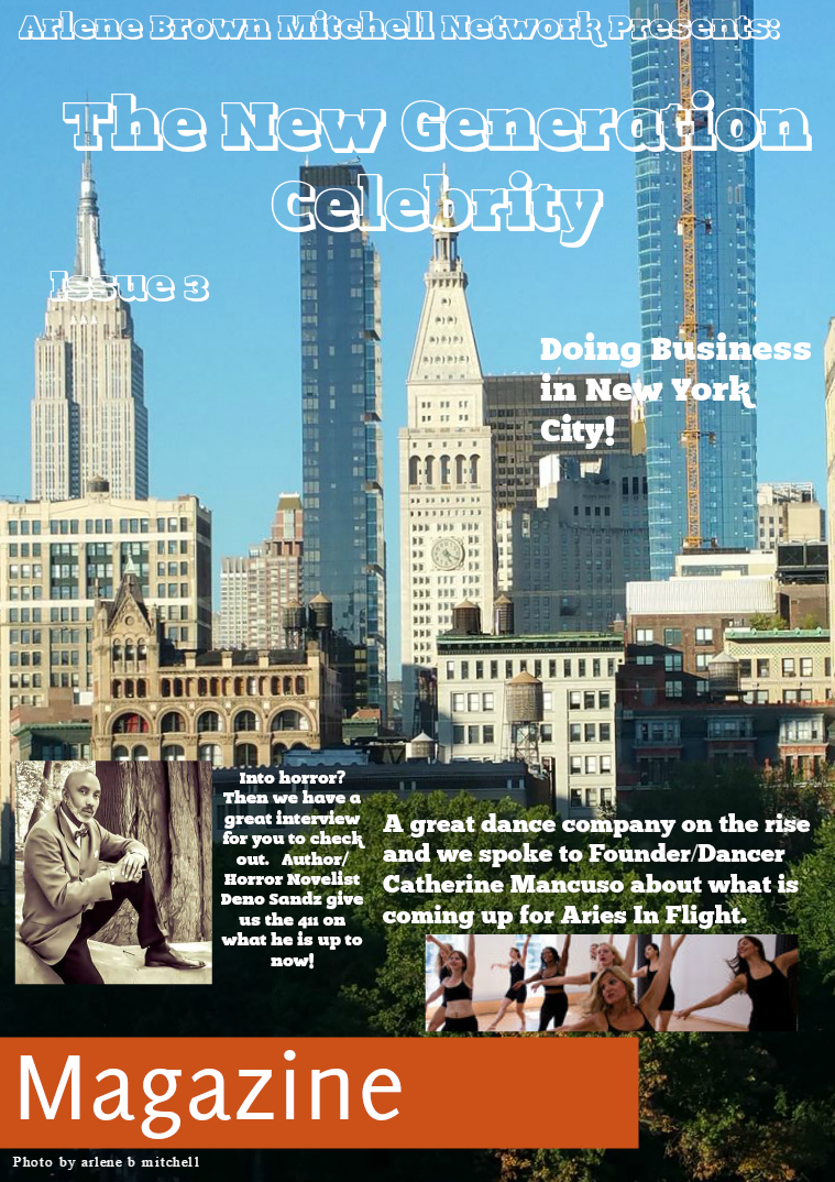 Arlene Brown Mitchell Network Presents: The New Generation Celebrity Issue 3