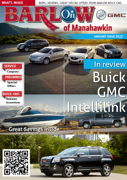 Barlow Buick GMC January Specials 1/15/2013