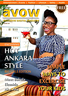 Avow Exclusive Digital Magazine. Issue 9