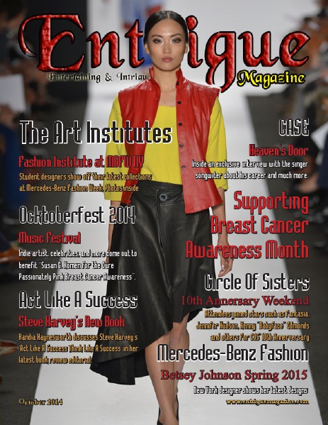 Entrigue Magazine December 2014 October 2014 (Fashion Cover)
