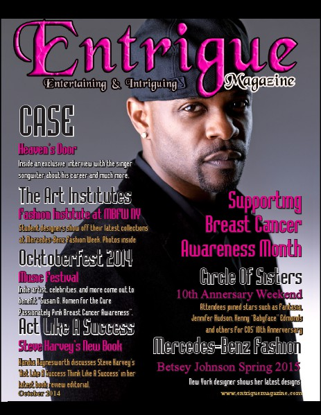 Entrigue Magazine December 2014 October 2014 (Case Cover)