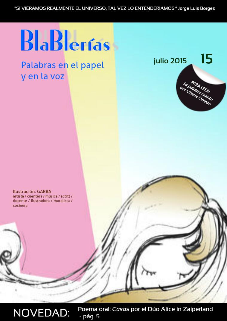 Blablerías N°15 - Julio 2015