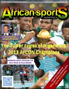 African Sports Monthly February 2013 Issue