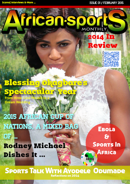 African Sports Monthly Feb, 2015