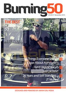 Burning 50 Lifestyle Magazine