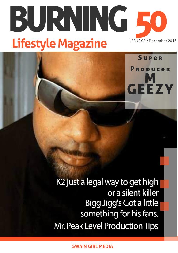 Burning 50 Lifestyle Magazine Issue 2 December 2015
