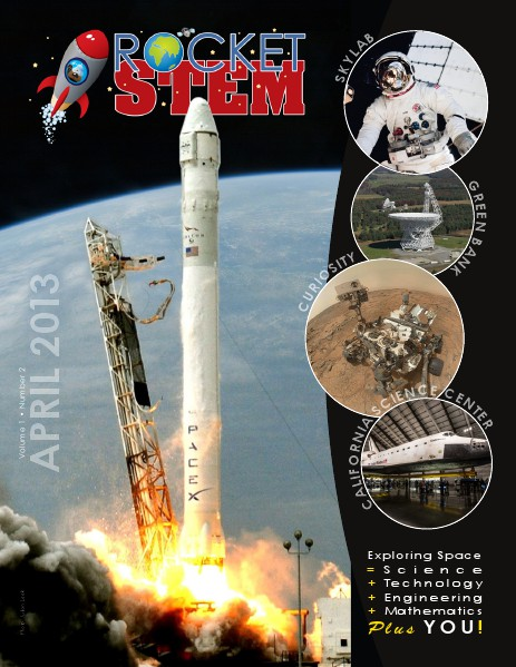 RocketSTEM Issue #2 - April 2013