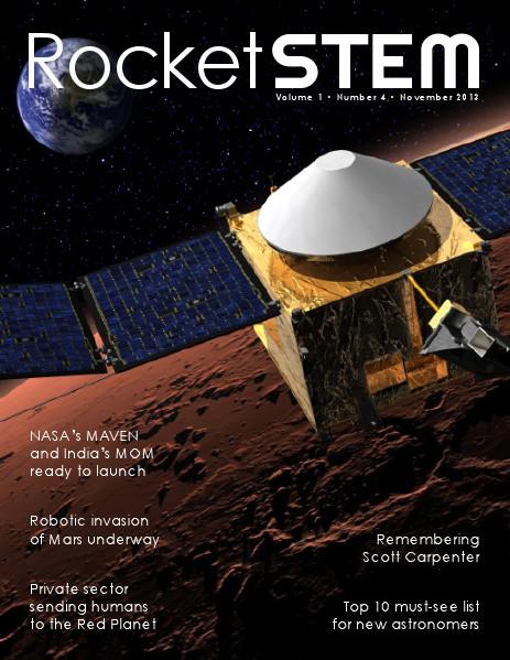 RocketSTEM Issue #4 - November 2013