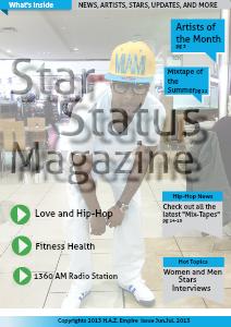 Star Status Magazine issue Feb.Mar