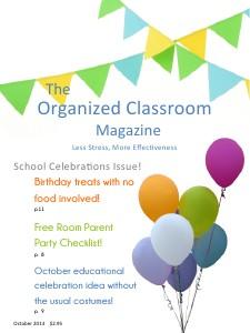 The Organized Classroom Magazine October 2013