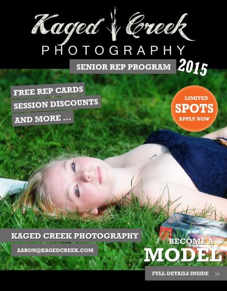 Kaged Creek Senior Rep Program 2015