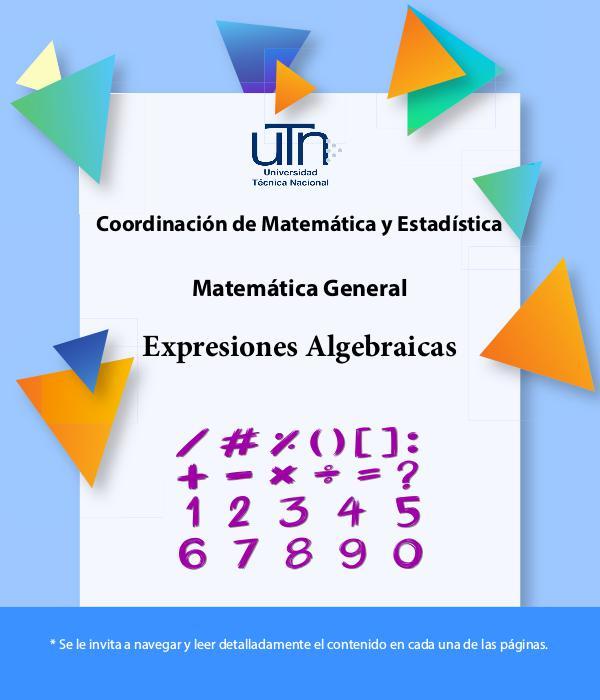 Expresiones Algebraica Expresiones Algebraica