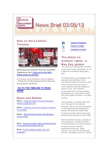 Weekly Employment Law News Briefs 03/05/2013