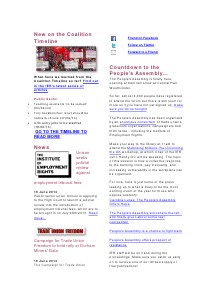 Weekly Employment Law News Briefs 21/06/13