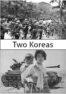 Two Koreas January 2013