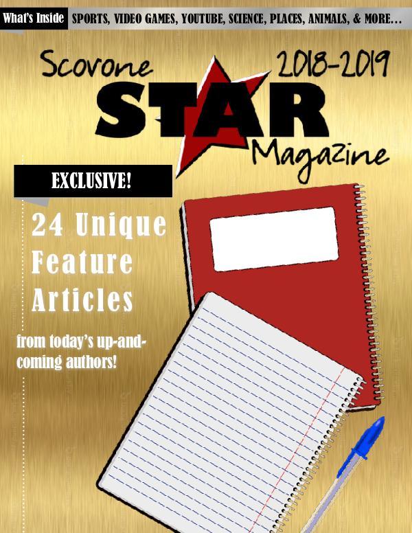 Scovone Star Magazine 2018-2019