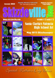 Skizzleville Online Magazine Vol. 2