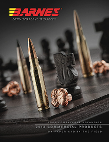 Barnes Bullets 2013 Commercial Products