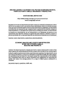 COMERCIO INTERNACIONAL Tema N°1