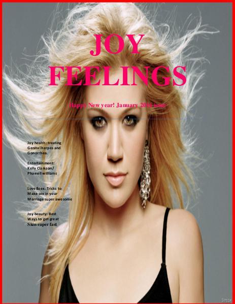 JOY FEELINGS MAGAZINE January 2016 issue