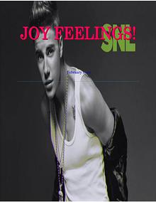 JOY FEELINGS MAGAZINE 2016