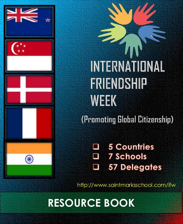 International Friendship Week - Promoting Global Citizenship INTERNATIONAL FRIENDSHIP WEEK (2) (1) [Autosaved]