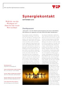 TIP Synergiekontakt September 2013