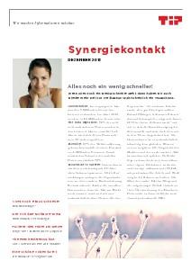 Synergiekontakt Dezember 2013