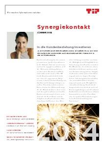 Synergiekontakt 2014 Synergiekontakt Jänner 2014