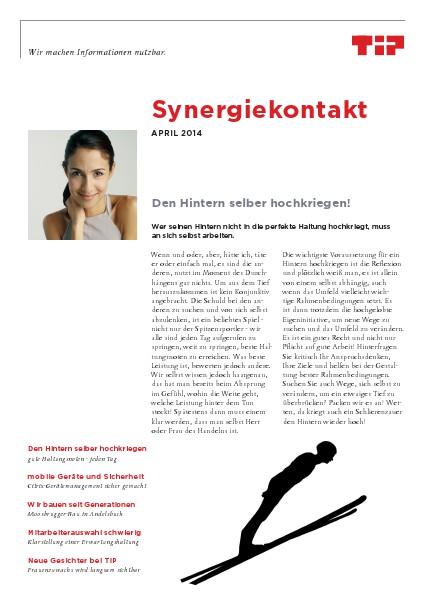 Synergiekontakt April 2014