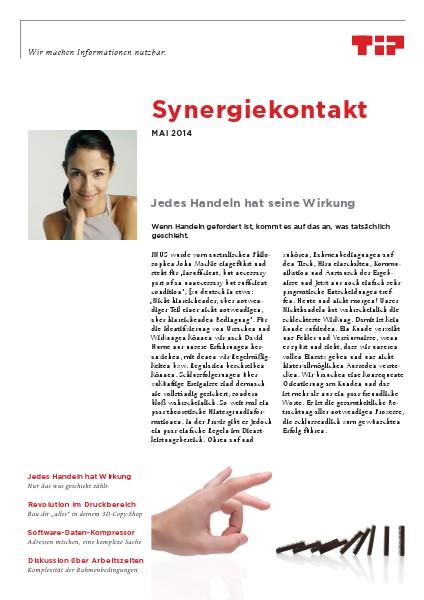 Synergiekontakt Mai 2014