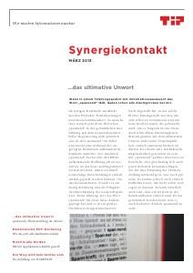TIP Synergiekontakt März 2013