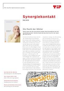 Synergiekontakt 2013 TIP Synergiekontakt Mai 2013