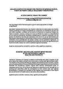 COMERCIO INTERNACIONAL 2013