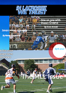 In Lacrosse We Trust Magazine Volume 1