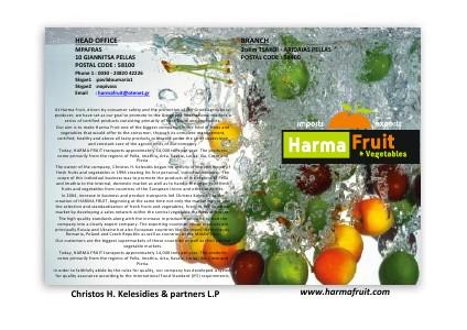 Harma Fruit 2012 - 2013 February 2013