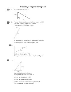 Awesome Maths Revision Feb 2013