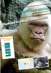 Creatividad Digital. Especies en Extinción Febrero, 2013