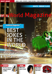 ourWorld Magazine Issue 1