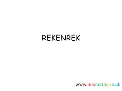 How to use the rekenrek August13
