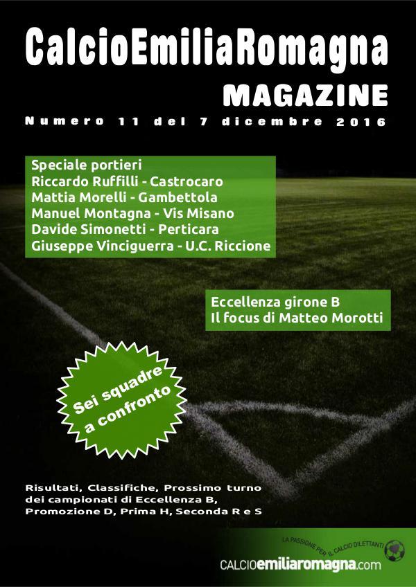 CalcioEmiliaRomagna Magazine Numero 11