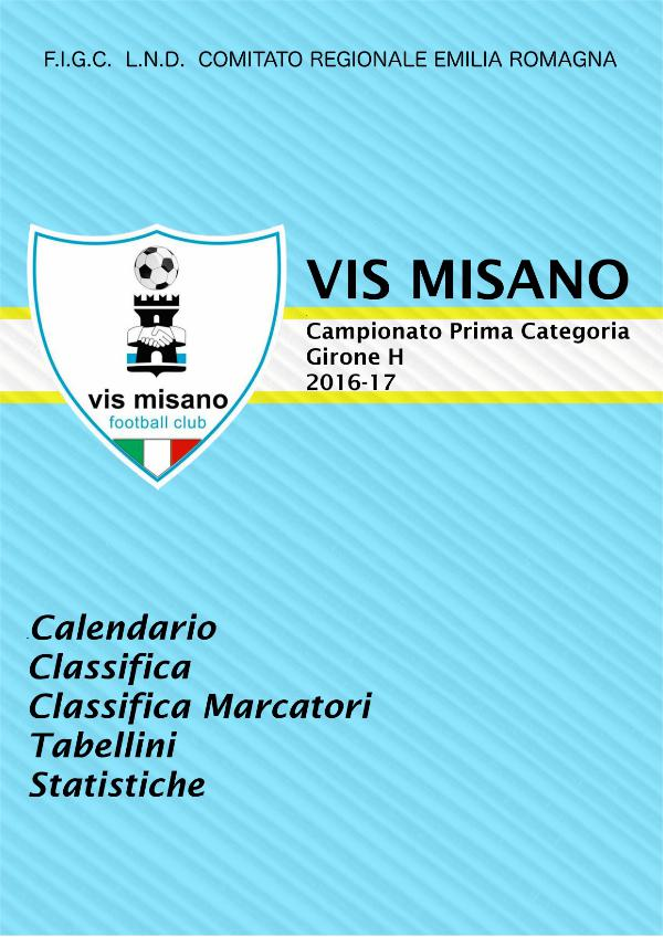 Almanacco Calcio stagione 2016-17 Vis Misano