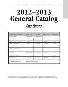 LBCC Catalog