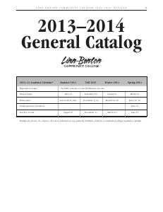 2013-14 Catalog Jun. 2013