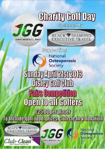 Jamie Goodhall Golf Charity Golf Day 1