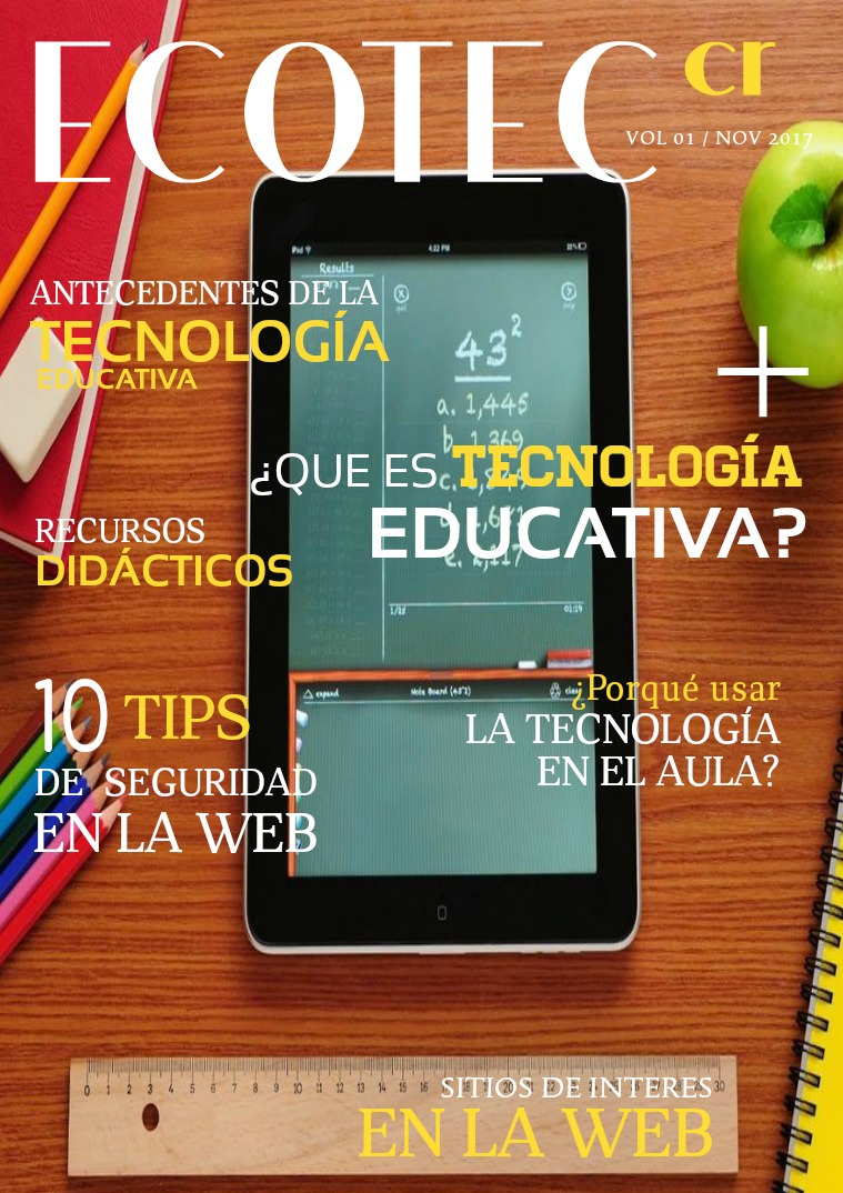 EDUCATEC-CR EDUCATEC-CR Vol. 1. nov 2017