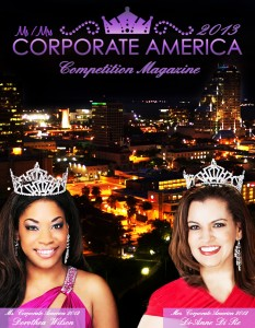 Ms. / Mrs. Corporate America 2013 MCA Competition Magazine MOCK-UP