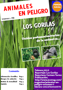 Animales en Peligro Volumen I. Febrero 2013