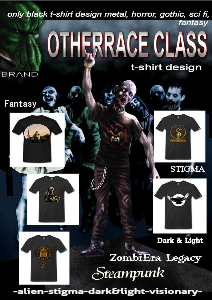 Otherrace Class t-shirt design