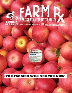 """Georgia Organics """"Farm Rx"""" Conference Program 16th Annual Conference"""
